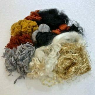 Close-up of fibres.